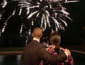 """""""أتمنى للعالم السلام والفرح"""" مارك زوكربيرج يحتفل بالعام الجديد 2020.. صور"""