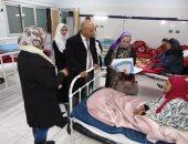 صور .. وكيل صحة الغربية يتفقد مستشفى صدر طنطا فى جولة مفاجئة