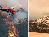 كيف دفعت ثلوج نيوزيلندا ثمن حرائق الغابات في أستراليا؟ صور صادمة تكشف القصة