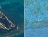 """ظهور """"كرات نارية"""" متوهجة فى بحر الصين الجنوبى.. والسبب مجهول"""