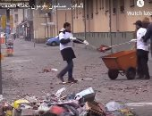 النظافة من الإيمان.. مسلمون يقومون بحملة تنظيف فى شوارع برلين