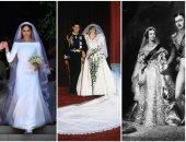 18 فستان فرح ما يتنسوش فى تاريخ الموضة.. من الملكة فيكتوريا لميجان ماركل