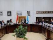 خالد العنانى يترأس اجتماع مجلس إدارة المجلس الأعلى للآثار بعد دمج الوزارتين