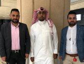 ياسر رضوان يصل السعودية لتوقيع عقود تدريب نادى السد