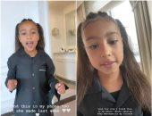 ابنة كيم كاردشيان تبدأ طريق النجومية من انستجرام والدتها.. بالفيديو