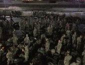 قوات المارينز تعزز وجودها فى محيط السفارة الأمريكية ببغداد