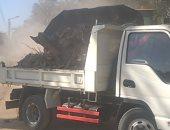 رفع وإزالة 102 طن مخلفات وقمامة من شوارع قرى البياضية بالأقصر.. صور