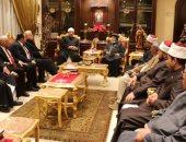 محافظ جنوب سيناء ووزير الأوقاف يزوران كاتدرائية السمائيين بشرم الشيخ (صور)