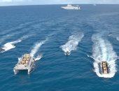 شاهد .. 4 دقائق مرعبة لعمليات تدريب الجيش المصرى فى البحر المتوسط