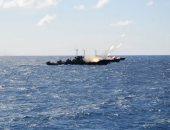صور.. القوات البحرية تنفذ عملية تدريبية فى البحر المتوسط ..بمشاركة أسلحة متنوعة