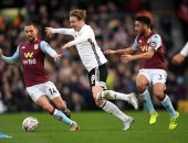 شوط سلبي بين فولهام ضد أستون فيلا فى كأس الاتحاد الانجليزي