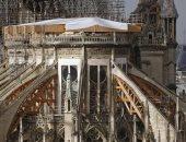 مسؤول ترميم كاتدرائية نوتردام: المعلم الباريسى لا يزال فى خطر