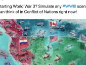 مستخدمو تويتر يشنون هجوما لاذعا على لعبة فيديو للحرب العالمية الثالثة