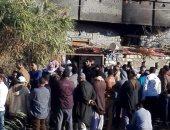 تفاصيل مصرع 7 أشخاص من أسرة واحدة لحرق مجهولين منزلهم بكفر الدوار.. صور