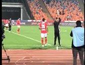 الأهلى يحتفل بالمشاركة الأولى لـ كهربا فى صفوف فريقه بالدورى الممتاز.. فيديو