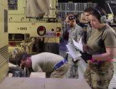 القوات الأمريكية تخلى قاعدتها العسكرية على الحدود السورية العراقية التركية