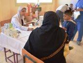 """قافلة مستشفى سعاد كفافى تقدم خدماتها الطبية مجاناً لـ8 آلاف مواطن فى """"رأس سدر"""" بسيناء"""
