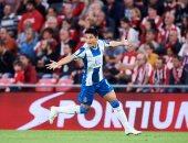 وو لي لاعب إسبانيول أول لاعب صينى يسجل فى تاريخ الدورى الإسبانى