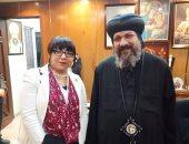 صور.. حزب الحرية يزور كنائس شبرا الجنوبية للتهنئة بعيد الميلاد الجديد