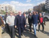 محافظ القاهرة: الرئيس وجه بإعادة المظهر الحضارى لشوارع مصر الجديدة وتشجيرها