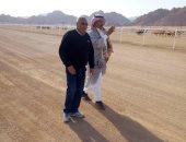 شرم الشيخ تستعد لاستضافة ثالث سباق للهجن برعاية الإمارات..صور