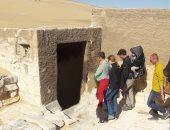 وفد سياحى أوكرانى يزور المناطق الأثرية فى المنيا