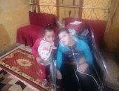 محافظة سوهاج تستجيب لمأساة شقيقين فى سوهاج يعانيان من ضمور بالمخ