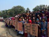 مظاهرات لطلاب جامعة بنجلادش بسبب اغتصاب طالبة