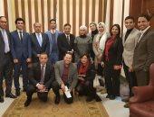 وفد من تنسيقية شباب الأحزاب والسياسيين يلتقى رئيس الهيئة الوطنية للصحافة