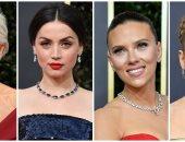 صور.. أجمل مجوهرات نجمات هوليوود فى حفل الجولدن جلوب 2020