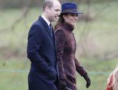 كيت ميدلتون تتألق بإطلالة شتوية جديدة بمعطف ملون وقبعة زرقاء .. صور
