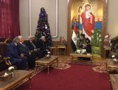 وزير التربية والتعليم يهنئ البابا تواضروس بعيد الميلاد المجيد