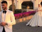أحمد الشيخ يكشف عن صور جديدة بألبوم حفل زفافه.. فيديو
