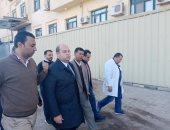 صور..  محافظة الجيزة توجه بالانتهاء من وحدة الرعاية المركزة بمستشفى اطفيح