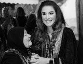 """الملكة رانيا فى ذكرى اليوم العالمى للمرأة: """"كل عام ونساء بلدى بخير"""""""