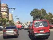 فيديو.. سيولة مرورية بشارع البحر الأعظم للمتجه من المنيب إلى الدقى