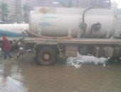 طقس غير مستقر بالإسكندرية والمحافظة ترفع حالة الطوارئ ..صور