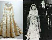 اعرفى قصة تصميم فستان زفاف الملكة إليزابيث.. 3 شهور من العمل السرى
