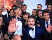 فيديوهات جديدة من حفل زفاف أحمد الشيخ..رقص وغناء مع نجوم الأهلى وأمح الدولى