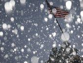 صباح البرد.. الولايات الامريكية تكتسى بالأبيض فى عاصفة ثلجية