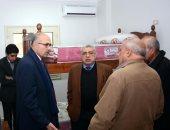 نائبا رئيس جامعة طنطا يتابعان تجهيزات مدينة المنتزه الجامعية للطالبات