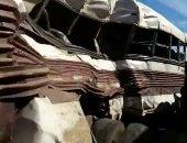 مصرع 7 وإصابة 30 آخرين فى حادث تصادم قطار بأتوبيس بالمكسيك.. صور