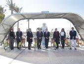 البنك الاهلي المصري يقوم بتطوير شامل لمنطقة الملاعب بمدينة زويل