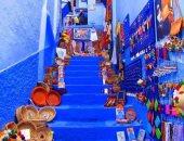 فوربس تختار منازل مدينة شفشاون المغربية أفضل صور على إنستجرام