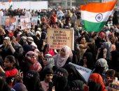 احتجاجات فى الهند بعد هجوم شنه ملثمون على جامعة بنيودلهى