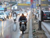 أمطار على مناطق متفرقة بالقاهرة والجيزة والمحافظات