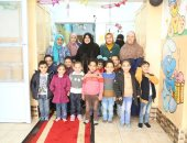 صور.. محافظ كفرالشيخ: نحن للأطفال الأيتام الأب والأم وندعو المجتمع لدعمهم