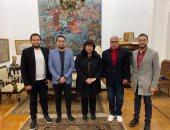 وزيرة الثقافة تلتقى وفد مهرجان الإسكندرية للفيلم القصير