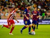 """برشلونة ضد أتلتيكو مدريد.. أوبلاك يتألق فى تعادل سلبى بالشوط الأول """"فيديو"""""""
