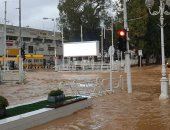فيديو.. إسرائيل تغرق فى شبر مياه و كوارث بسبب السيول